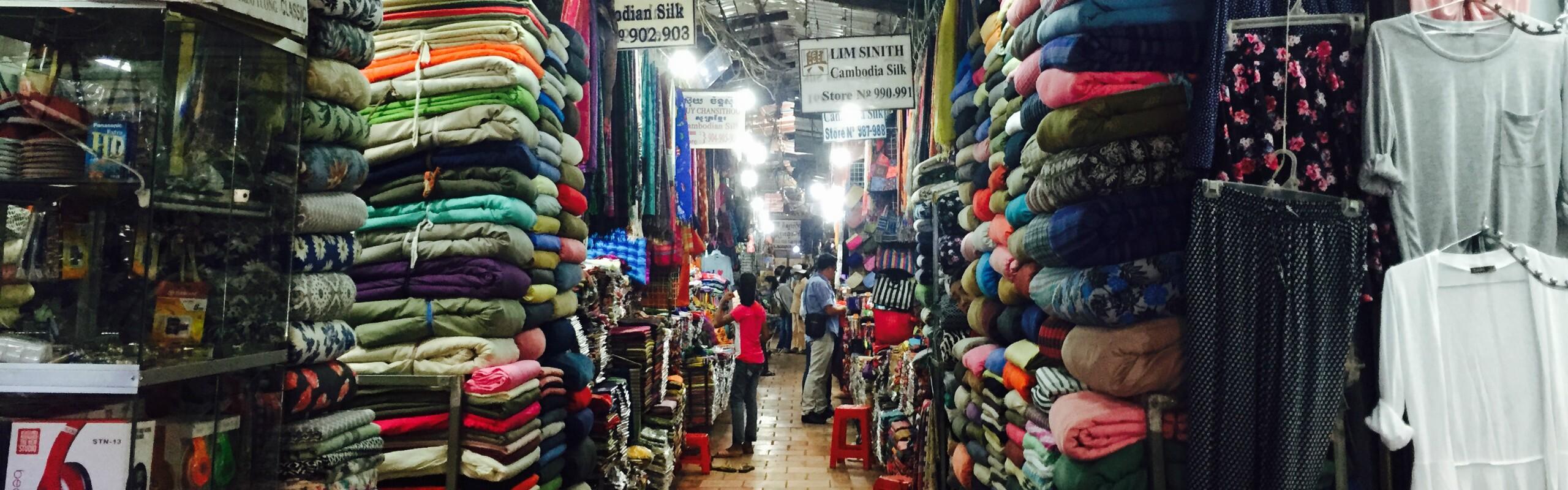 Shopping in Phnom Penh