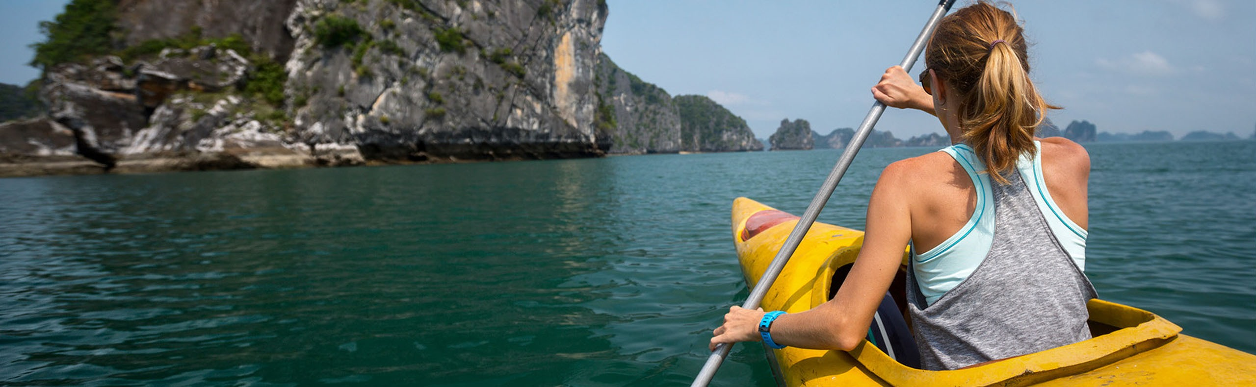 Diving and Swimming in Halong Bay