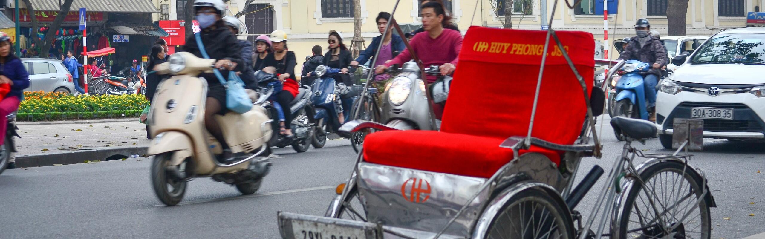 Getting to and Around Hanoi