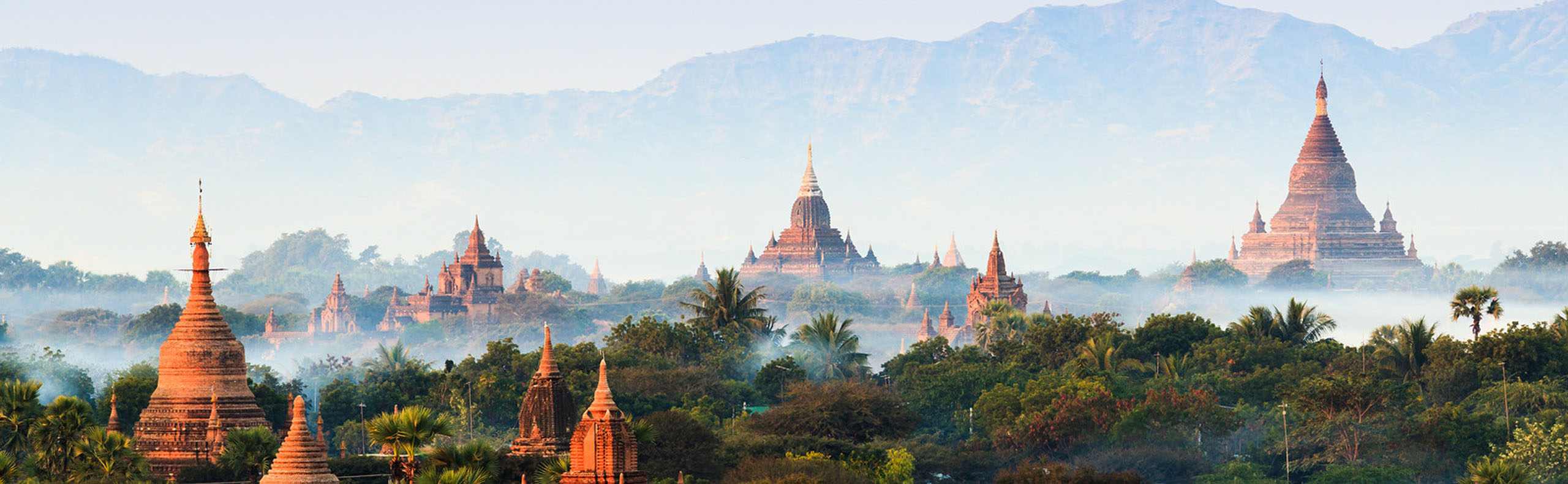 February Weather in Bagan - Dry with Little Rainfall