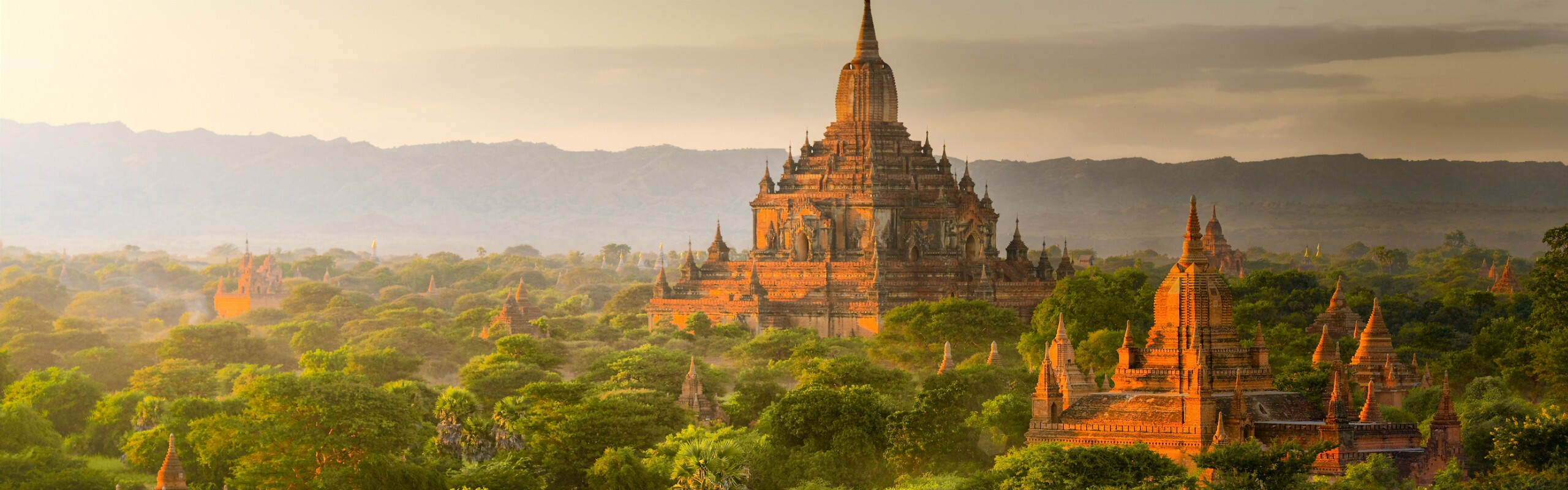 August Weather in Bagan - Rainfall Increases Dramatically