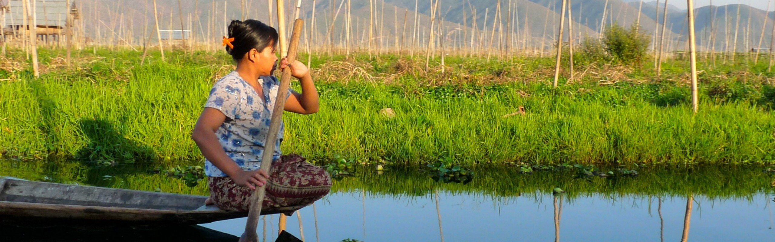 June Weather at Inle Lake