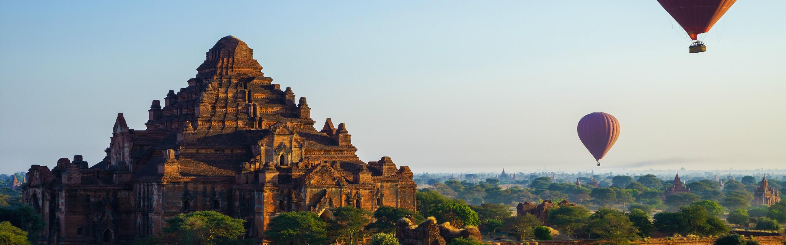 April Weather in Bagan - Hot Season Starts