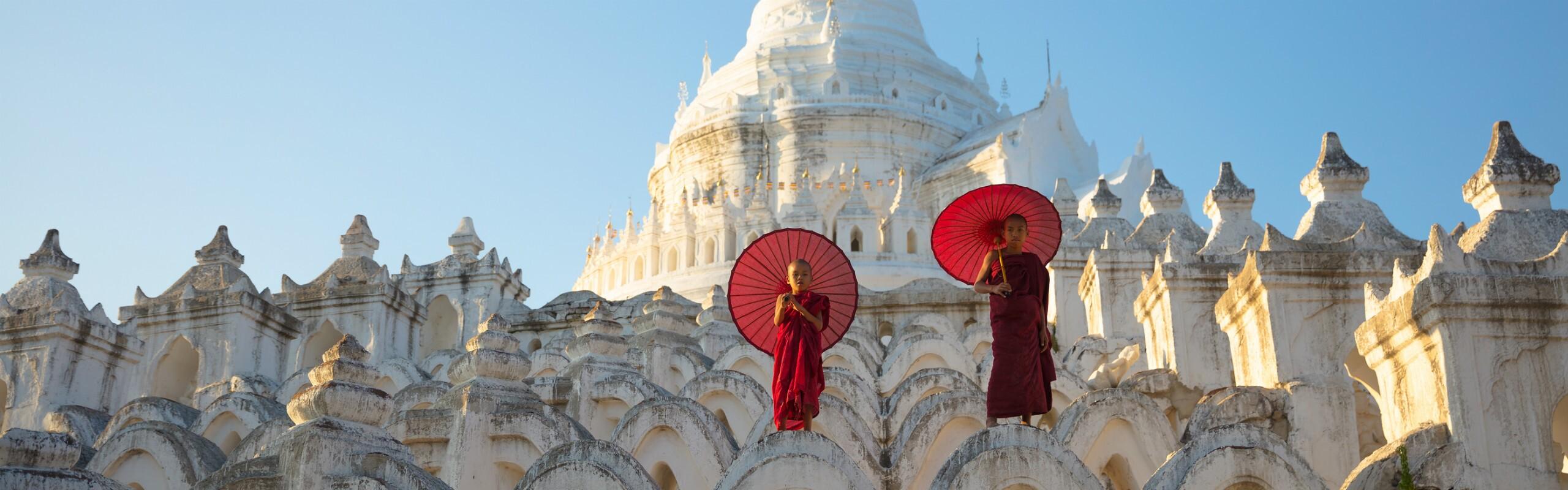 April Weather in Mandalay - Burning Hot
