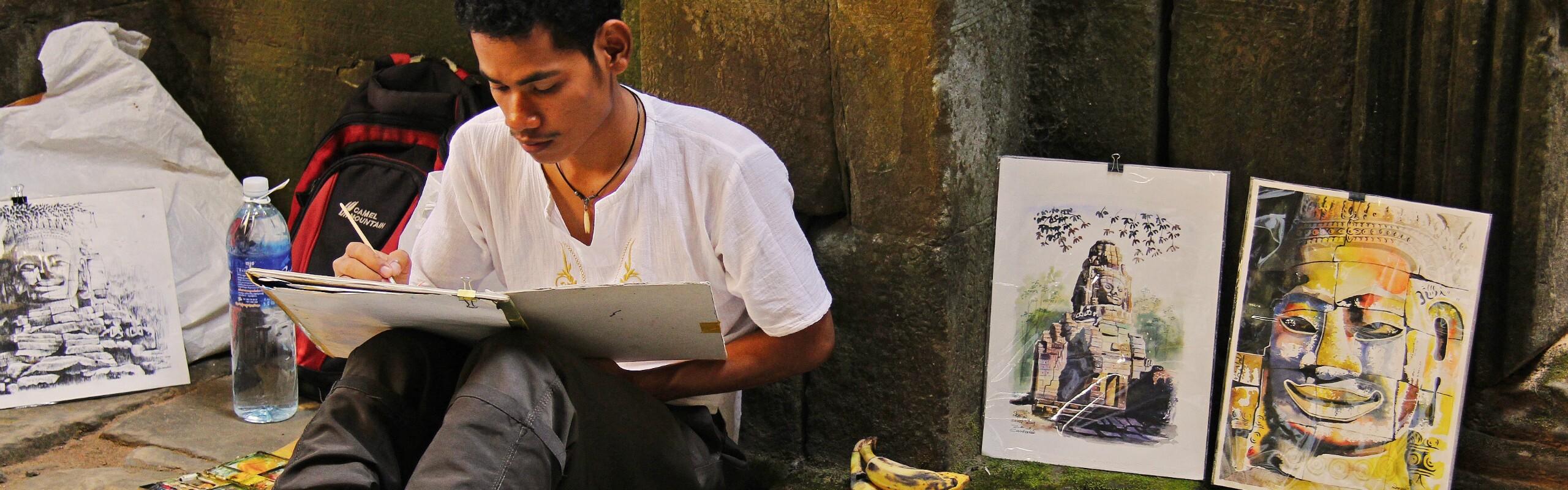 Volunteer for Building Cambodia