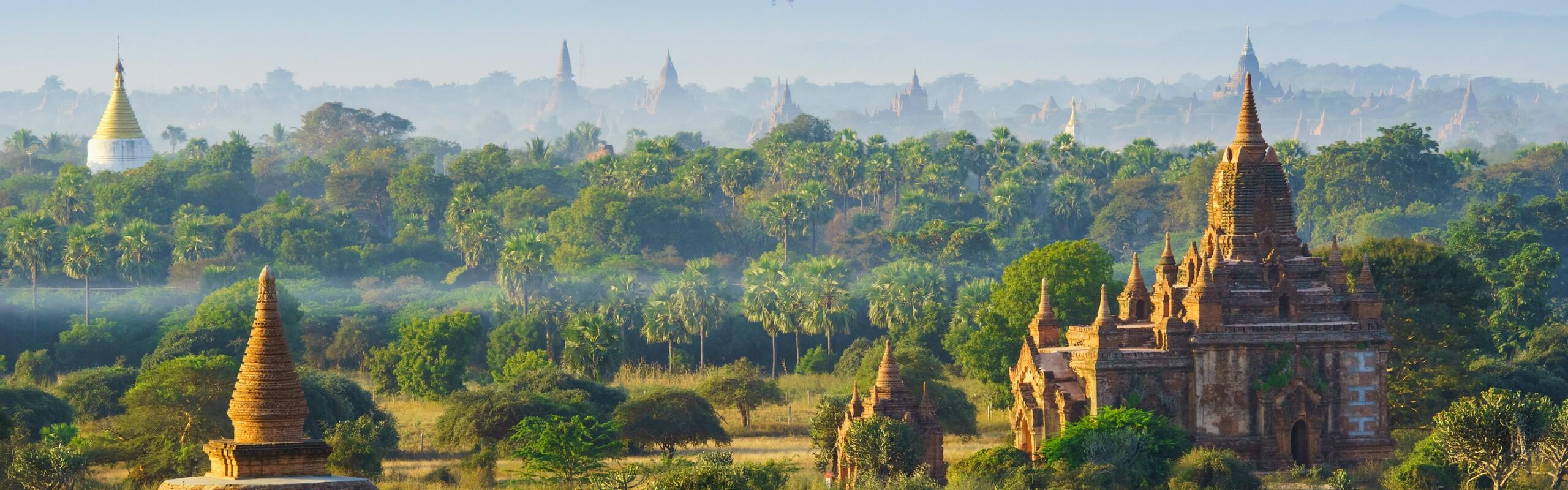 Myanmar Temples and Pagodas - The Land of Pagodas