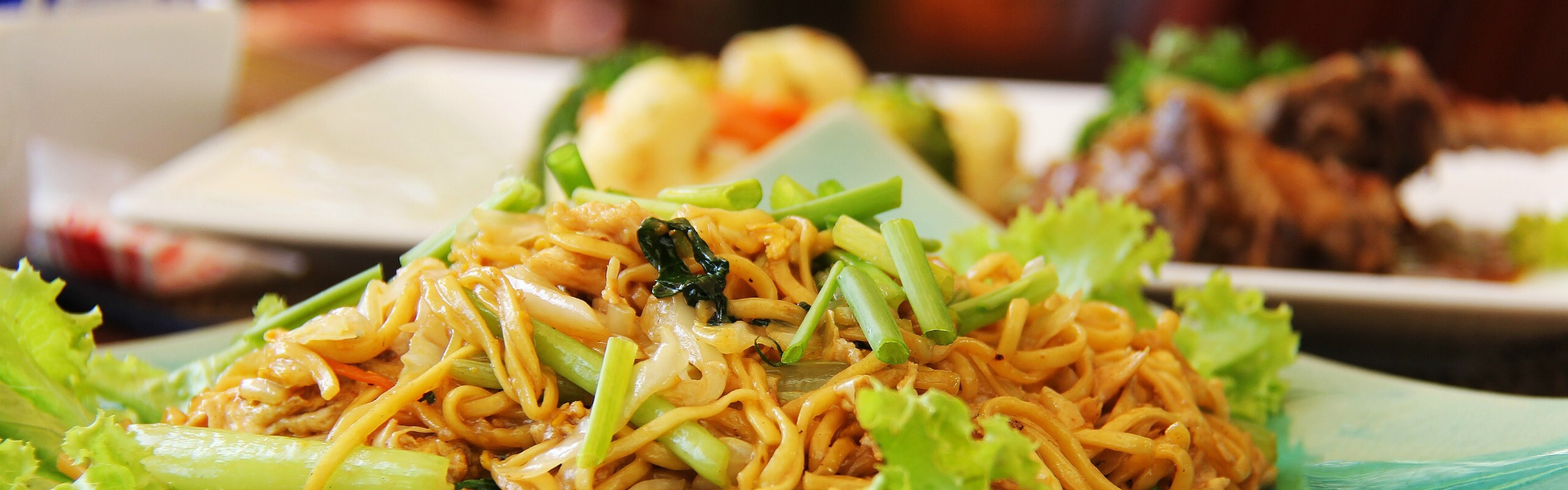 Dining in Cambodia