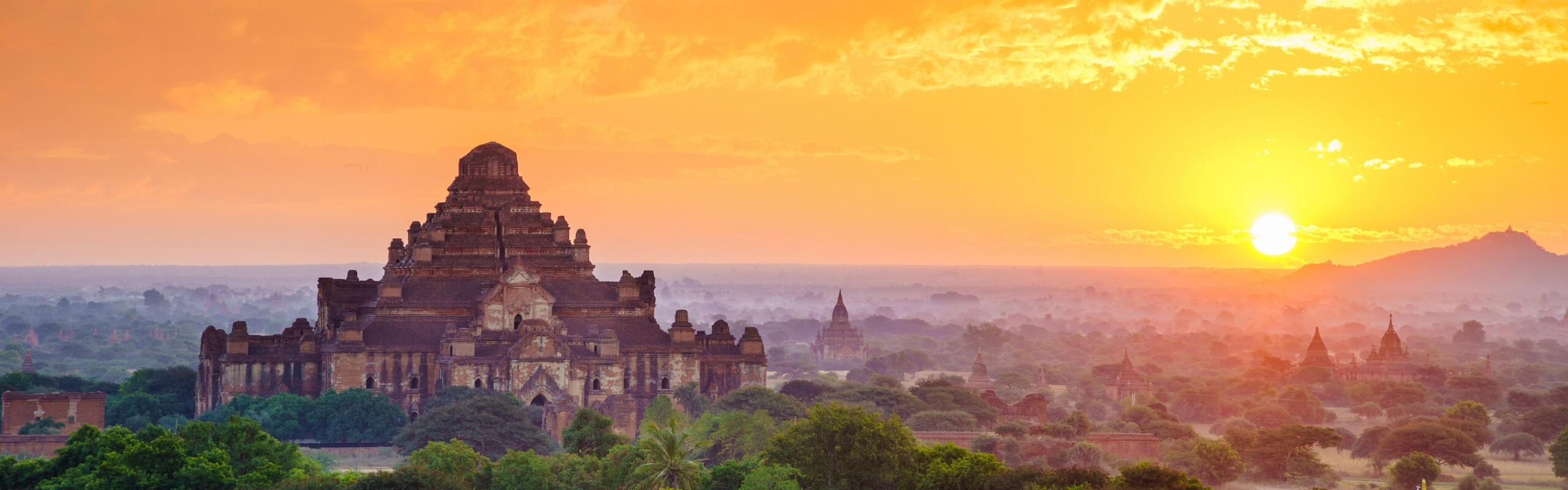 October Weather in Bagan