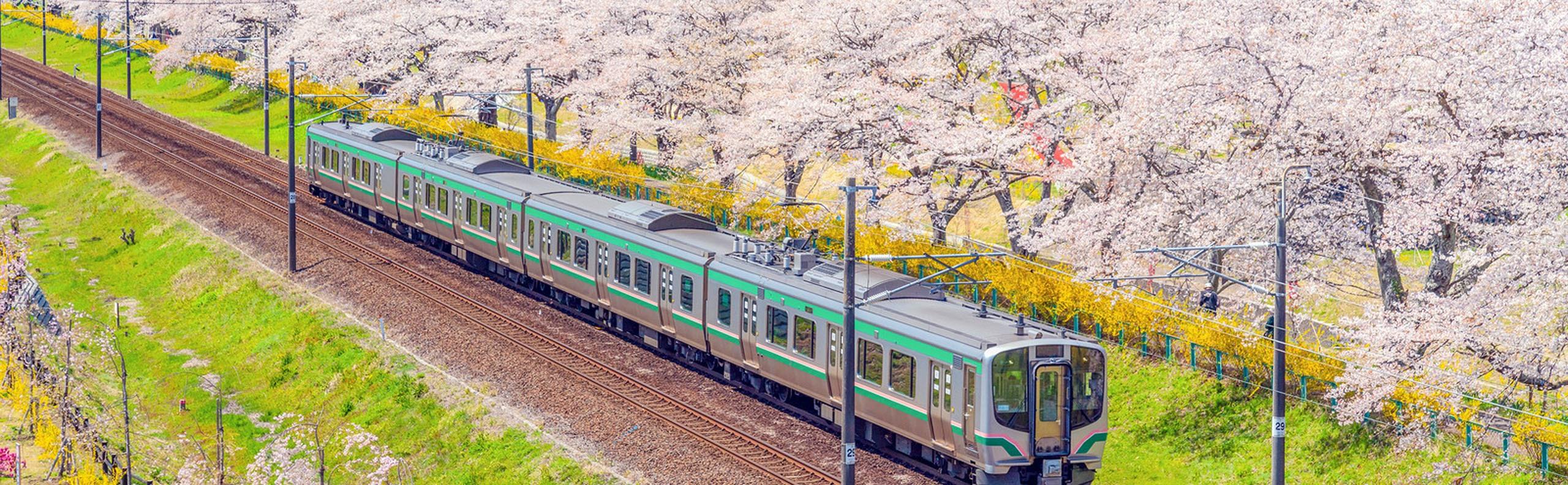 The Shinkansen Bullet Train in Japan