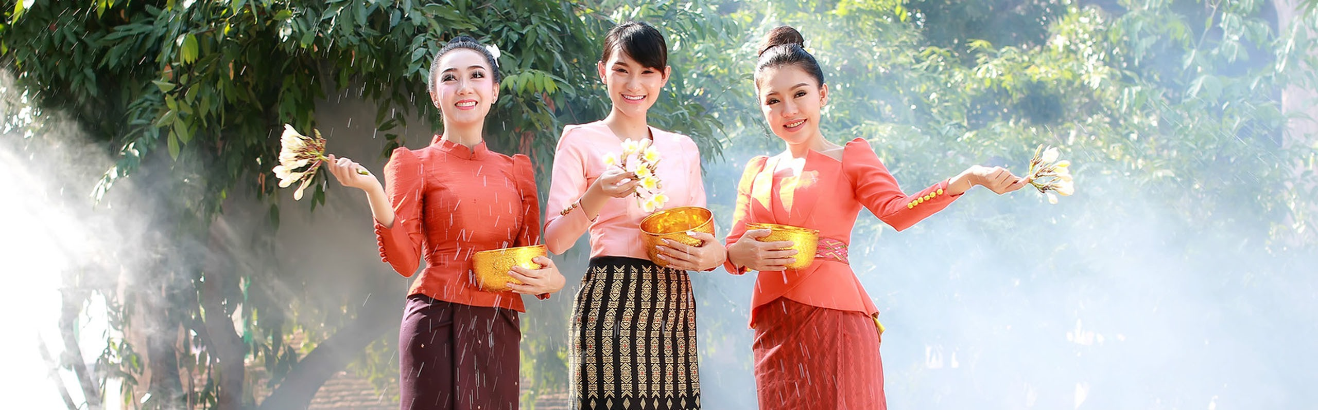 Songkran Festival - the Thai New Year 2020