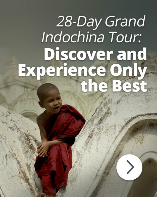 Grand Indochina Tour: Myanmar - Vietnam - Laos - Cambodia - Thailand