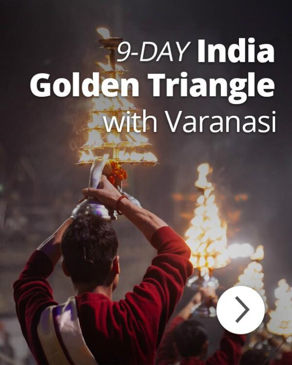 9-Day India Golden Triangle with Varanasi